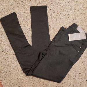 NWT Maurices Smart skinny pants charcoal gray